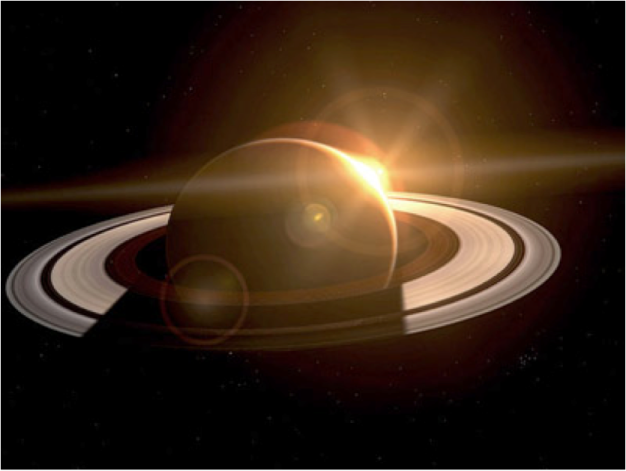 Sunrise Saturn